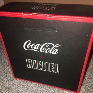 Coca Cola x Riedel glassware